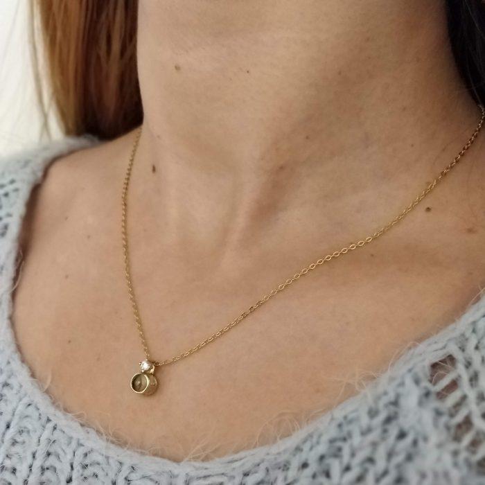 Collares de oro mujer personalizados